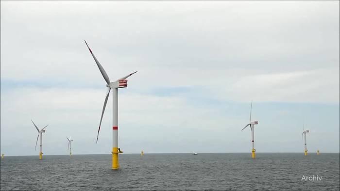 News video: Schwimmende Windkraftanlage wird in Ostsee getestet