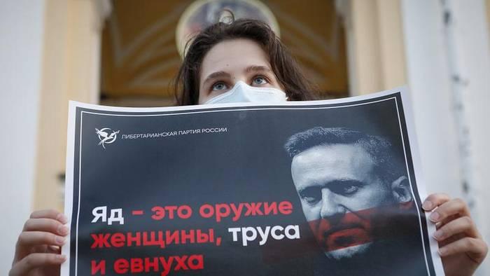 News video: Nicht Tee, sondern Wasser: Nawalny laut Team im Hotel vergiftet