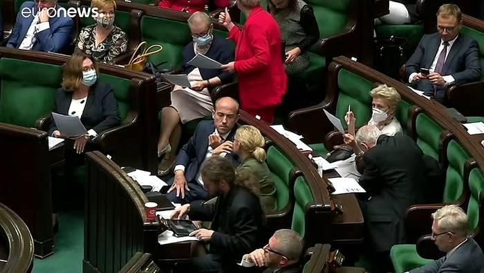 News video: Für die Katz? Regierungskoalition in Polen vor dem Aus