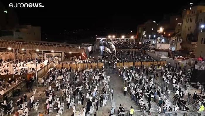 News video: Jerusalem feiert Rosch ha-Schana