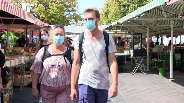 News video: Außer Kontrolle? Immer höhere Covid-19-Zahlen in Frankreich