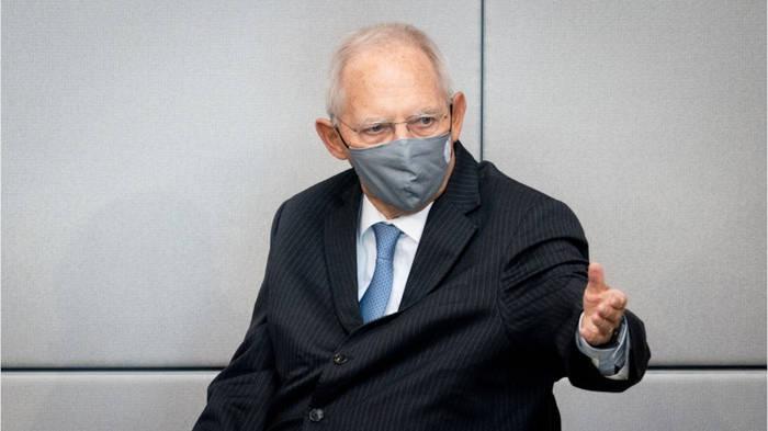 News video: Schäuble ermahnt Abgeordnete: