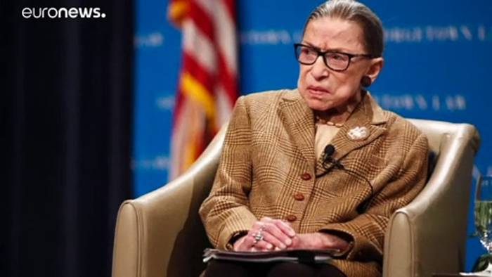 News video: Justiz-Ikone Ruth Bader Ginsburg gestorben