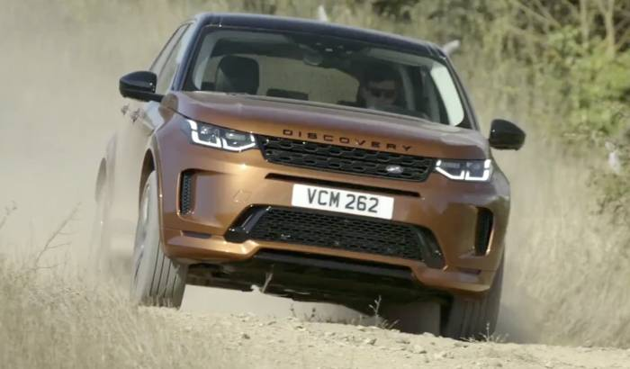 News video: Der neue Land Rover Discovery Sport startet in Deutschland