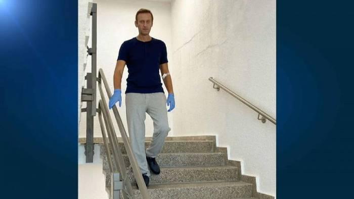 News video: Treppenübung - neues Bild von Alexej Nawalny