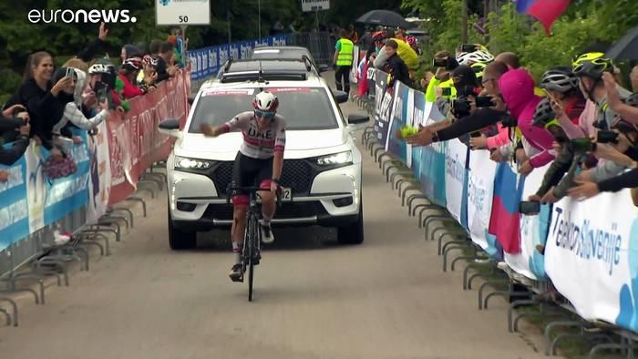News video: Wer ist TdF-Sieger Tadej Pogacar?