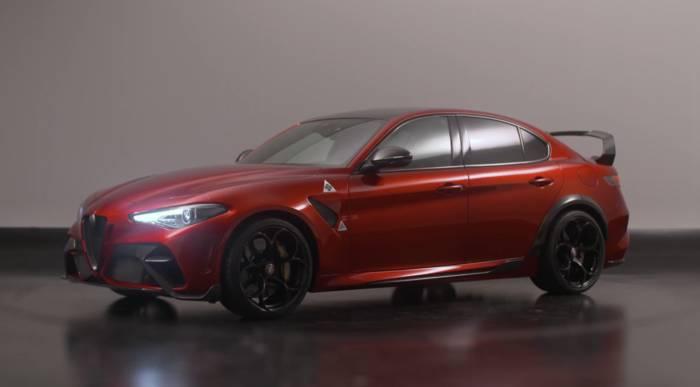 News video: Alfa Romeo Giulia GTA - eine Legende kehrt zurück
