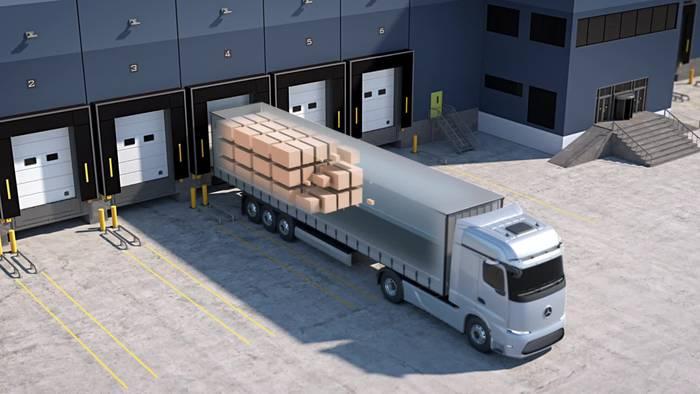 News video: Weltpremiere Mercedes-Benz GenH2 Truck - Wie sich unsere CO2-neutralen Lkw perfekt ergänzen