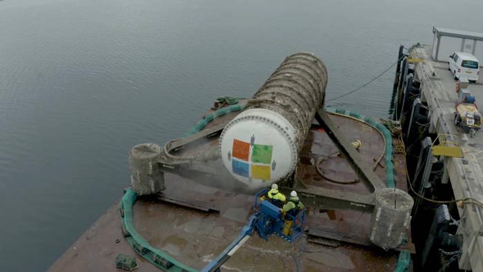 News video: Wegweisendes Experiment: Was birgt Microsoft hier aus der Tiefe der See?