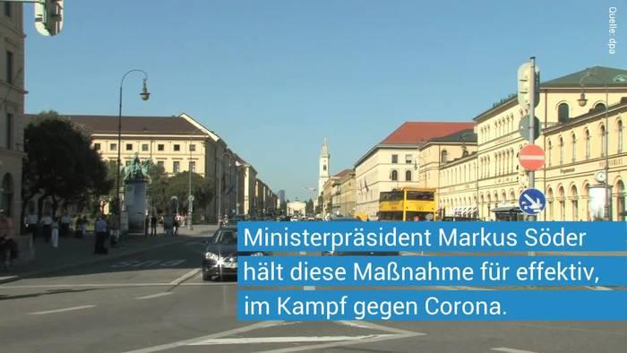 News video: Corona-Maßnahmen: Markus Söder zu Maskenpflicht und Alkoholverbot an öffentlichen Plätzen