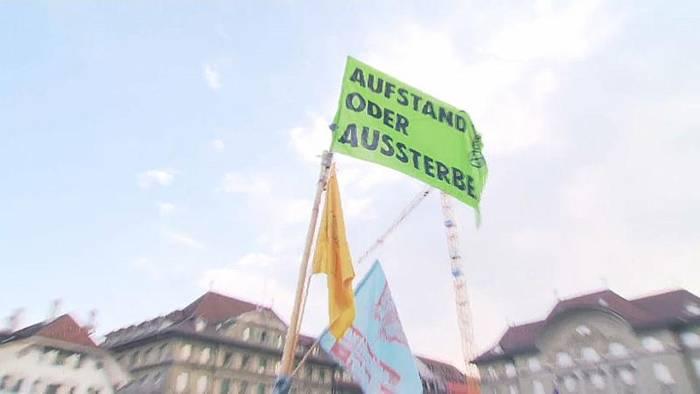 News video: Klimastreik in Bern: Der Bundesplatz ist besetzt