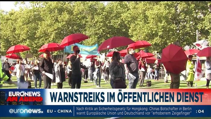 News video: Systemrelevant - war da was mit mehr Geld? Euronews am Abend 22.09.