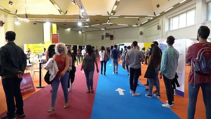 News video: Spanien: Wie Covid die Jugendarbeitslosigkeit antreibt