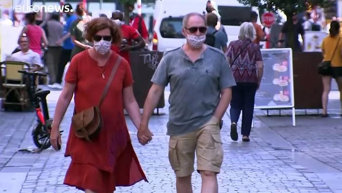 News video: Trotz hoher Infektionszahlen: Belgien lockert Maßnahmen