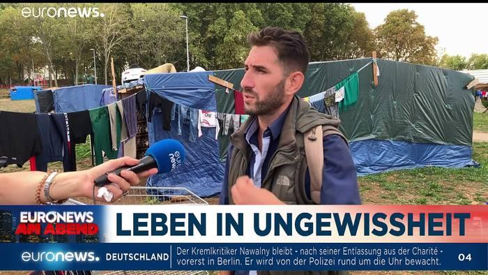News video: Bald doch ein EU-Deal für die Flüchtlinge? Euronews am Abend am 23.09.