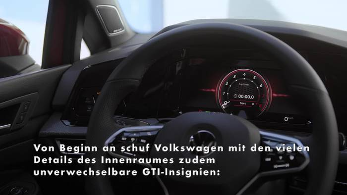 Video: Das Interieur Design des neuen Volkswagen Golf GTI