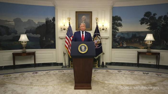 News video: Trump: China für Ausbreitung des Virus verantwortlich
