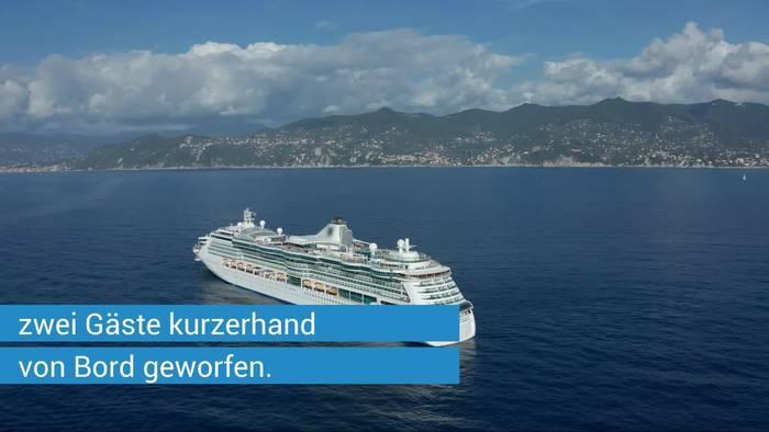 News video: Nach Fauxpas in Griechenland: TUI Cruises wirft Kreuzfahrt-Passagiere von Bord