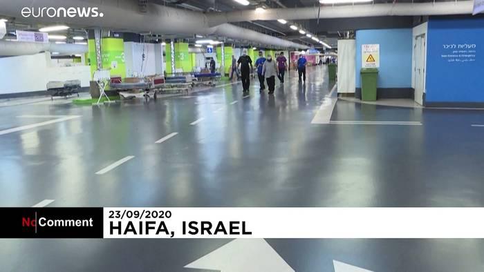 News video: Israel: Parkhaus als Corona-Station im Krankenhaus