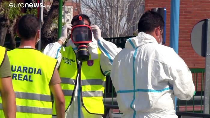 News video: Corona-Hotspot Madrid: Militär soll helfen