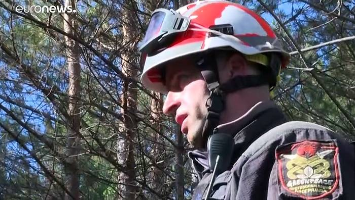 News video: Torfmoore brennen - Zombie-Feuer in Sibirien
