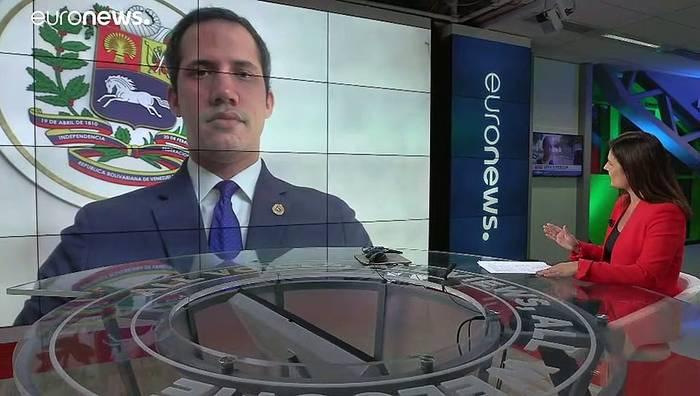 Video: Juan Guaidó klagt an: