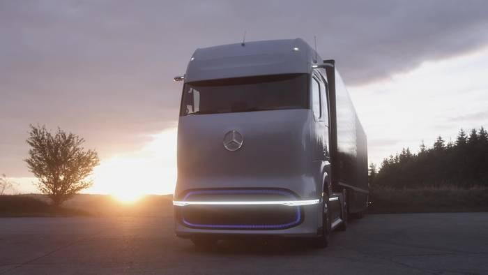 News video: Mercedes-Benz GenH2 Truck - Modularer ePowertrain für unterschiedliche Märkte und Segmente