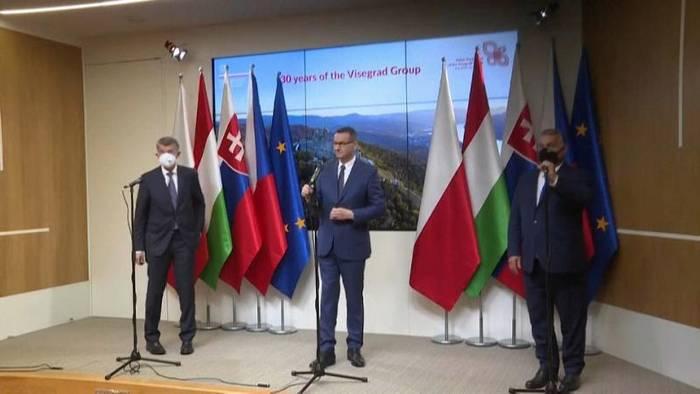 News video: Neuer EU-Migrationspakt schon im Visier der Visegrad-Staaten