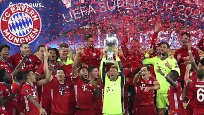 News video: FC Bayern München gewinnt Supercup im Corona-Hotspot Budapest