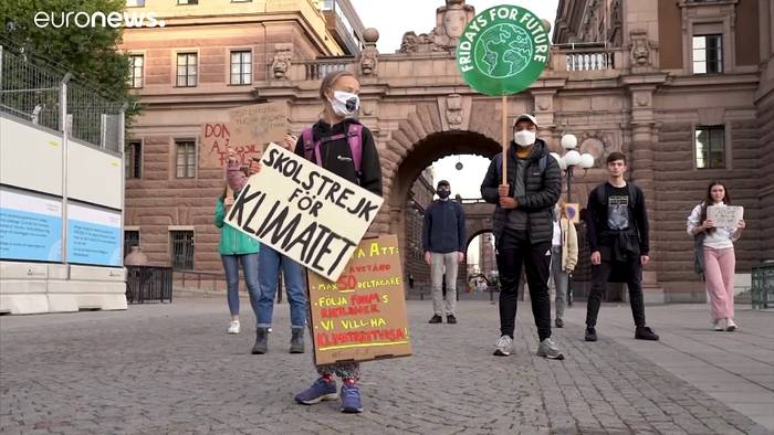 News video: Sie sind laut: Fridays-for-Future trotz Corona zurück um Klima zu retten