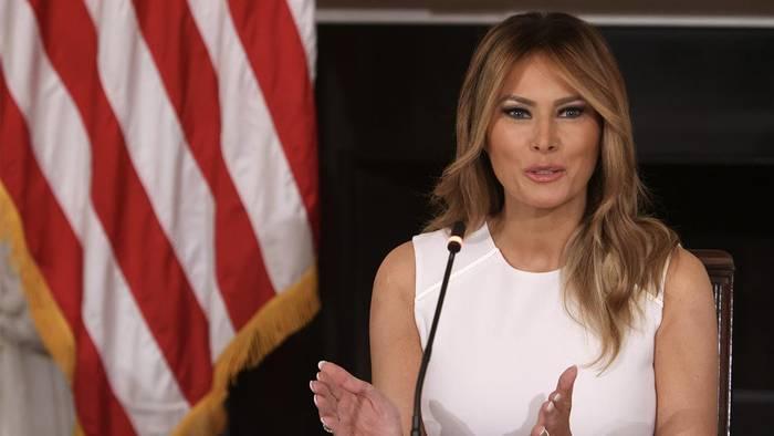News video: Enthüllungen über Melania Trump bringen das Weiße Haus ins Schwitzen