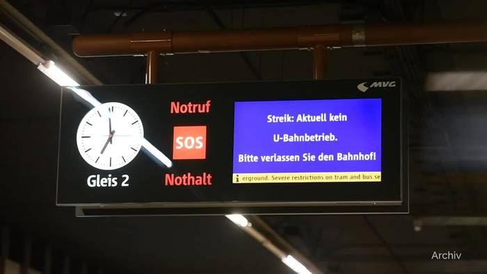 News video: Verdi ruft Warnstreiks im Öffentlichen Nahverkehr aus