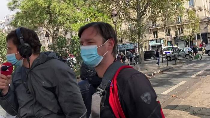 News video: Paris: Vermuteter Terror vor «Charlie-Hebdo»-Gebäude