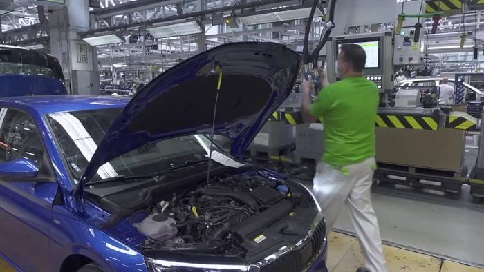 News video: Bei ŠKODA AUTO fällt in der Produktion seit Anfang des Jahres kein deponierbarer Abfall mehr an