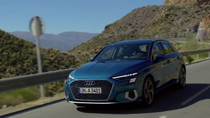 News video: Der neue Audi A3 Sportback - die Motoren