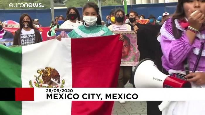 News video: Proteste wegen verschleppter Studenten in Mexiko - Haftbefehle gegen Soldaten