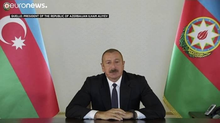 News video: Berg-Karabach: Armenien und Aserbaidschan stehen kurz vor einem Krieg
