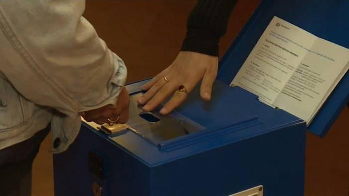 News video: Schweizer stimmen über