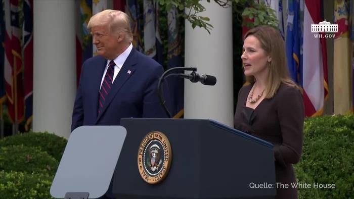 News video: Trump nominiert Barrett für Ginsburg-Nachfolge