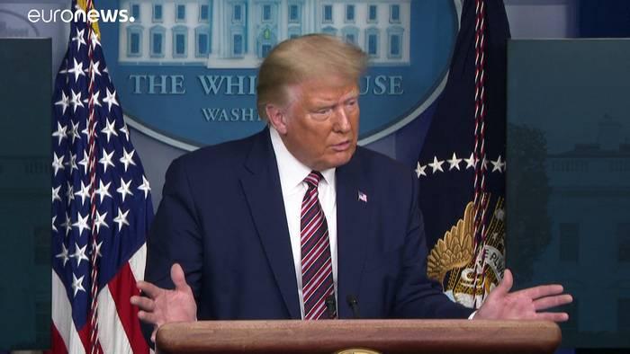 News video: Trump hat laut New York Times nur 750 Dollar Einkommenssteuer gezahlt