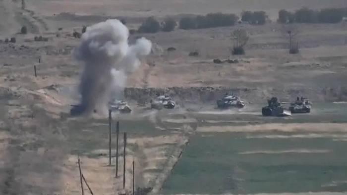 News video: Brüssel zu Berg-Karabach: Sofort Feuer einstellen