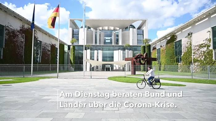 News video: Merkel warnt vor starkem Anstieg der Corona-Zahlen
