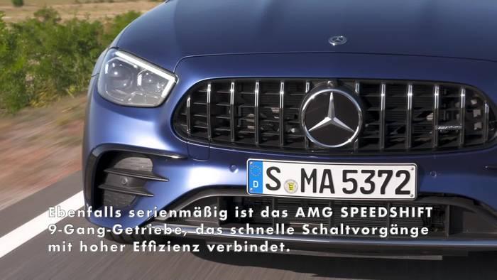 News video: Mercedes-AMG E-Klasse Modellfamilie Highlights