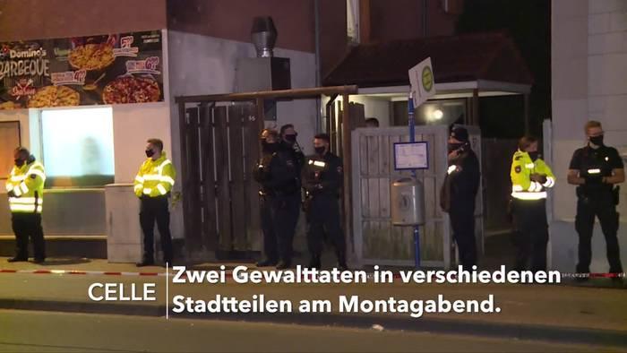 News video: Celle: Ein Toter und ein Verletzter in einer Nacht