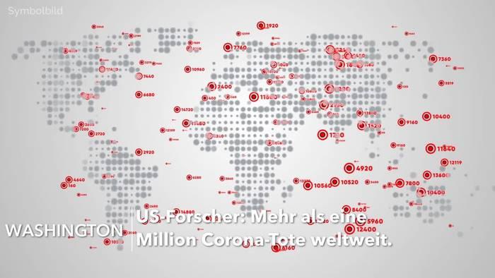 Video: US-Forscher: Mehr als eine Million Corona-Tote weltweit