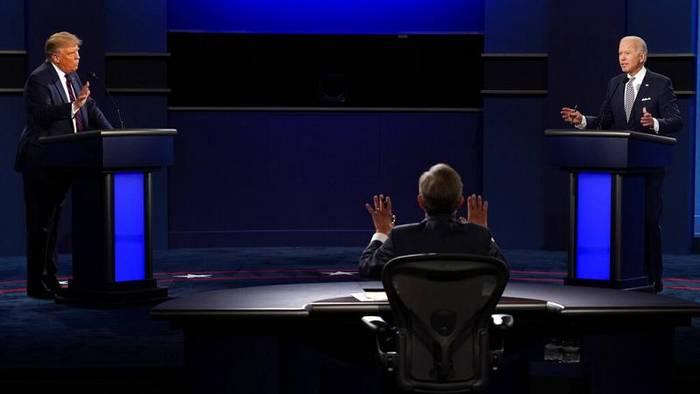 News video: US-Wahlkampf im O-Ton und in voller Länge: Die 1. Debatte von Trump und Biden