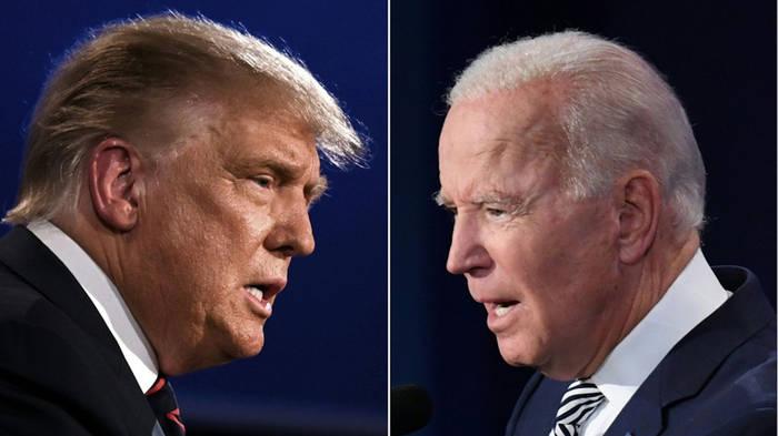 Video: Streitgespräch: So nennt Joe Biden Präsident Donald Trump im Fernsehen