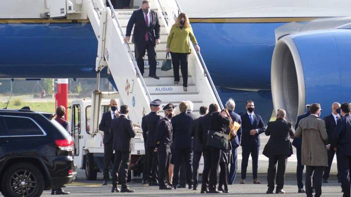 Video: US-Außenminister Pompeo in Italien