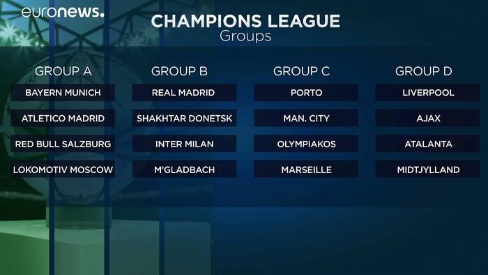 News video: Champions League: München gegen Salzburg, Leipzig in einer Gruppe mit PSG und Manchester