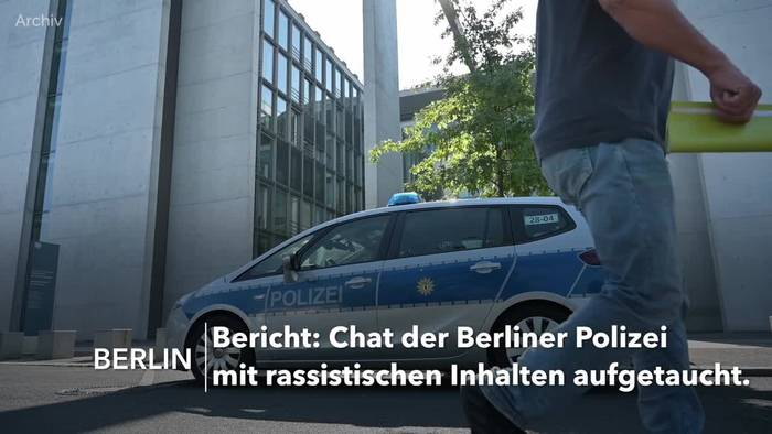 Video: Rassistische Chatgruppe in der Berliner Polizei